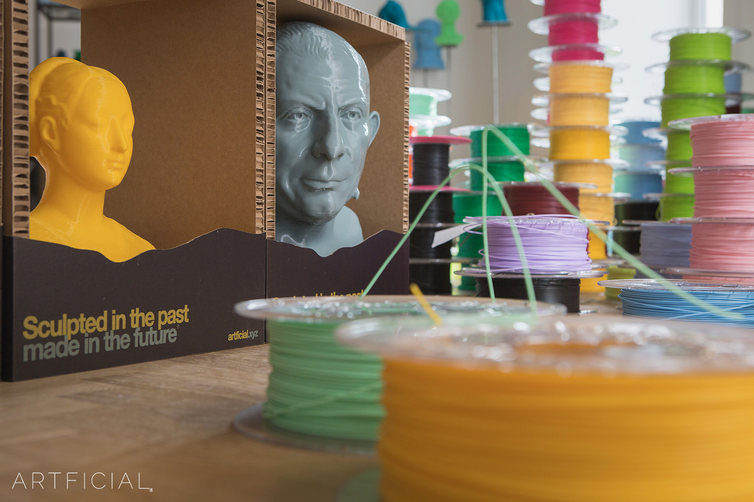 Artficial Packaging and Filament inside the Factory of the Future