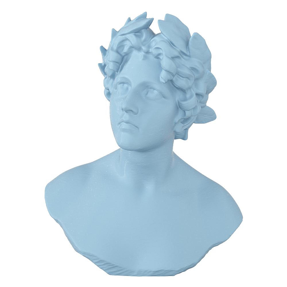 3D Printed Poet Bust