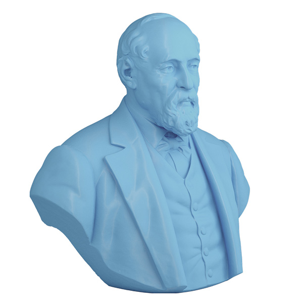 3D Printed Bust of Conte Tasca