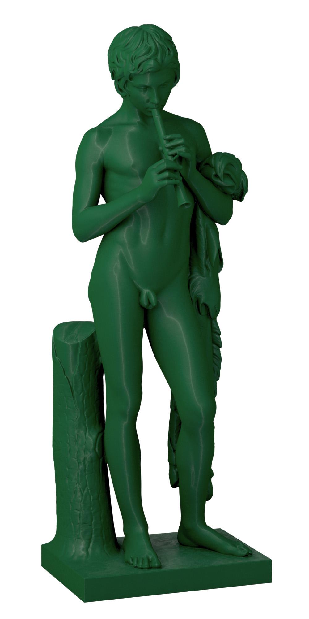 3D Printed Statue of Pan