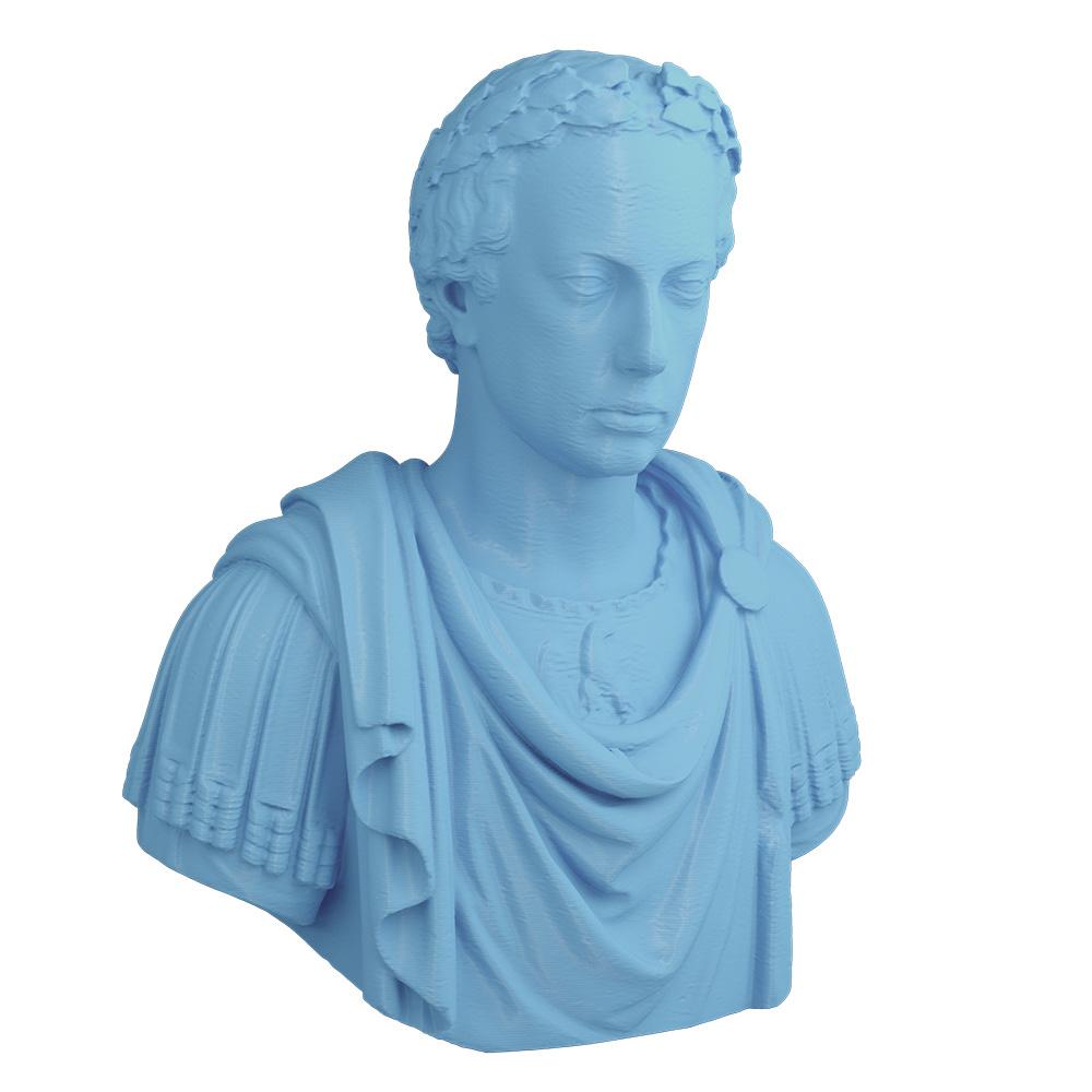 3D Printed Bust of a Roman General