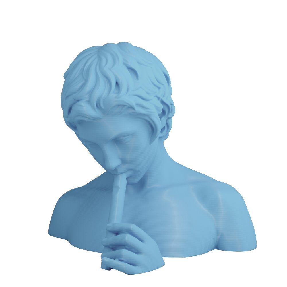 3D Printed Bust of Pan