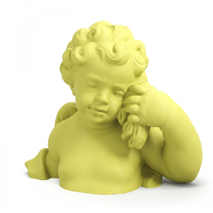 """Bust of a Cherub"" a Clone made by Artficial"
